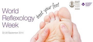 Celebrate World Reflexology Week by booking an appointment with Nikki at the Craven Clinic